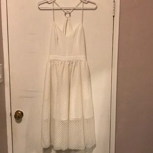 NBD white summer dress (sz S)